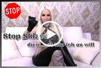 Tight-Tini: Stop Sklave - Du wichst wie ich es will
