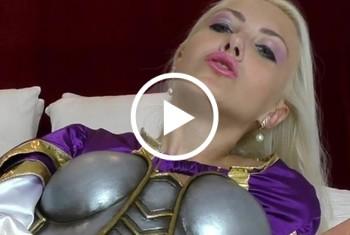 helenamoeller: Medieval Princess goes wild 5 squirts