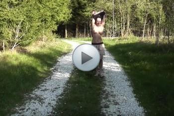 naturalchris: Nackt im Wald