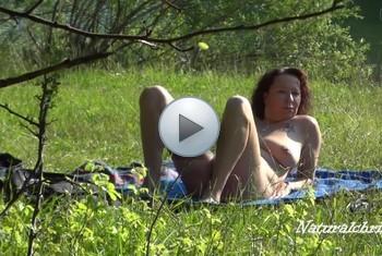 naturalchris: Der Spanner am FKK See