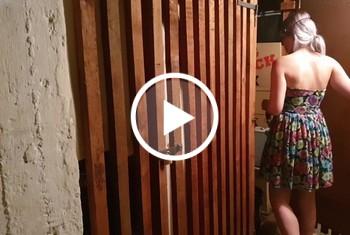 saltnpepper: Im Keller gepisst und fast erwischt
