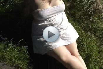 sexyvenushuegel: Geile Dusche beim Sonnen vom Stiefbruder